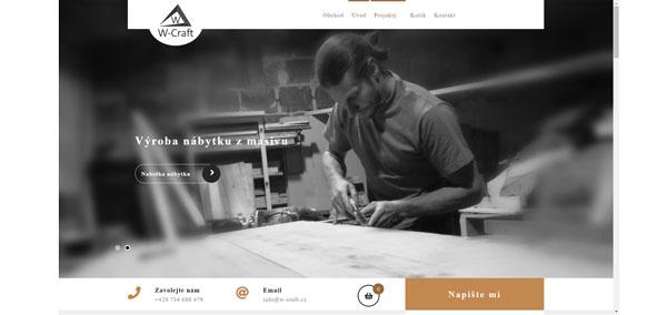 w-craft - zakázková výroba nábytku